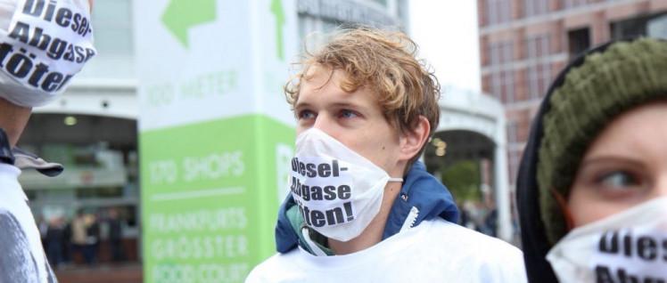 Objekt des Hasses: Die Deutsche Umwelthilfe und ihre Kampagne für ein Dieselverbot (Foto: Maximilian Geiß / DUH)