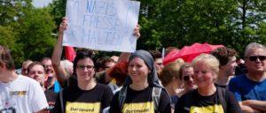 Dortmund, Protest gegen Naziaufmarsch (Foto: r-mediabase.eu)