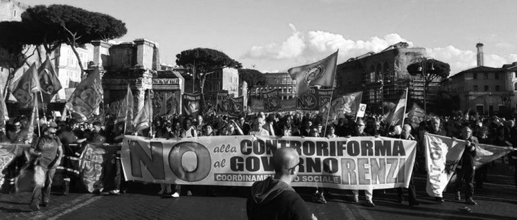 Generalstreik in Italien (Foto: usb.it)