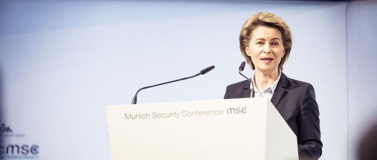 Möchte Europa in den Krieg führen: Ursula von der Leyen (Foto: MSC/Kuhlmann)