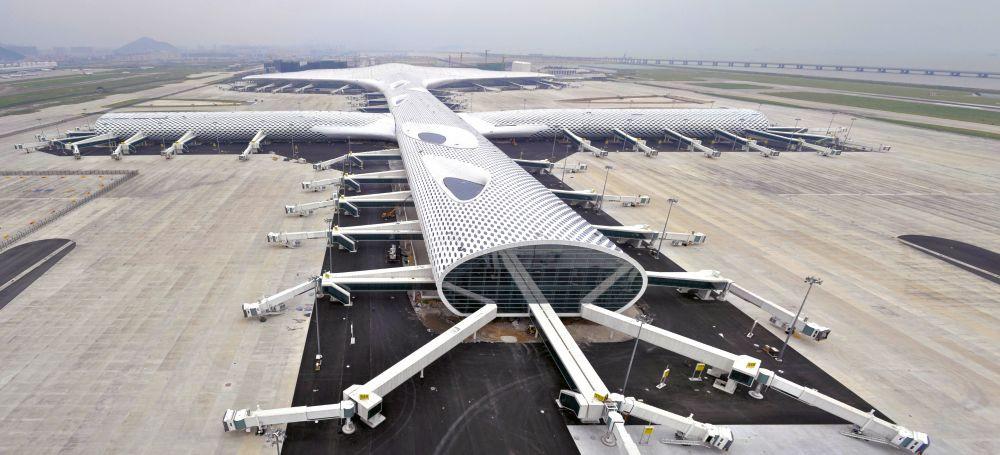 Flughafen von Shenzhen