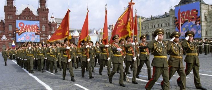 Militärparade auf dem Roten Platz am 9. Mai zur Erinnerung an den Sieg im Großen Vaterländischen Krieg (Foto: RIA Novosti archive / CC-BY-SA 3.0)