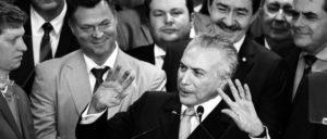 Rechter Aufschwung: Der Interimspräsident Michel Temer stellt sein Kabinett vor. (Foto: Valter Campanato/Agência Brasil)