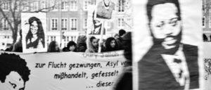 Die Proteste gegen den Tod von Oury Jalloh reißen nicht ab. (Foto: Caruso Pinguin/flickr.com/CC BY-NC 2.0)