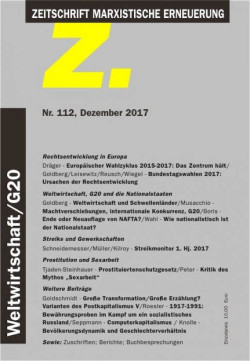 """Die aktuelle Ausgabe der Z.:  """"Rechtsentwicklung in Europa"""", Z. Nr. 112, Dezember 2017 Einzelheft 10 Euro. Zu bestellen bei: www.neue-impulse-verlag.de"""