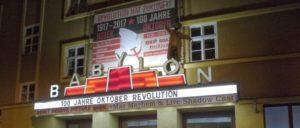 Eingang des Babylon in Berlin (Foto: Frank Kopperschläger)
