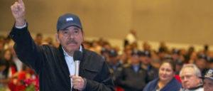 Daniel Ortega bei der Gedenkfeier zum 85. Jahrestag der Ermordung Augusto César Sandinos (Foto: EL19 Digital.com)