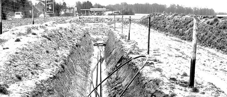 Blick auf die CO-Pipeline-Trasse der Bayer-Covestro (Foto: Uwe Koopmann)