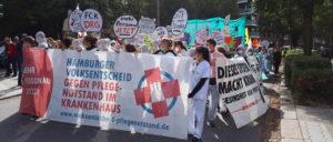Das Hamburger Pflegebündnis befürchtet die Verlängerung des Pflegenotstands in der Hansestadt. (Foto: Hamburger Bündnis für mehr Personal im Krankenhaus)