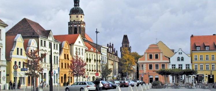 Der Altmarkt in Cottbus (Foto: Wikipedia/TH.cb/CC BY - SA30)
