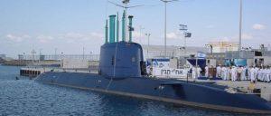 U-Boot Dolfin von ThyssenKrupp (Foto: [url=https://de.wikipedia.org/wiki/Israelische_Marine#/media/File:INS_Tanin_(1).jpg]Ilan Rom/Wikimedia Commons[/url])