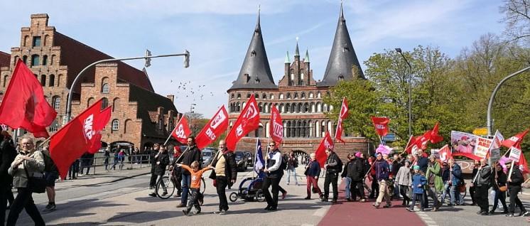 1. Mai in Lübeck (Foto: Thorsten Lünzmann)