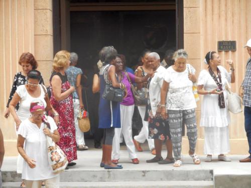 """Die """"älteren Studierenden"""" der Universität Havanna."""