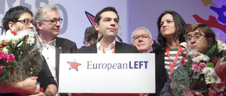 Da schien die Welt noch in Ordnung: Tsipras 2014 bei einem Kongress der Europäischen Linkspartei (Foto: ELP)