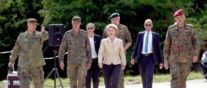 Vorwärts auch ohne Marschtritt (Foto: Bundeswehr/Sebastian Wilke)