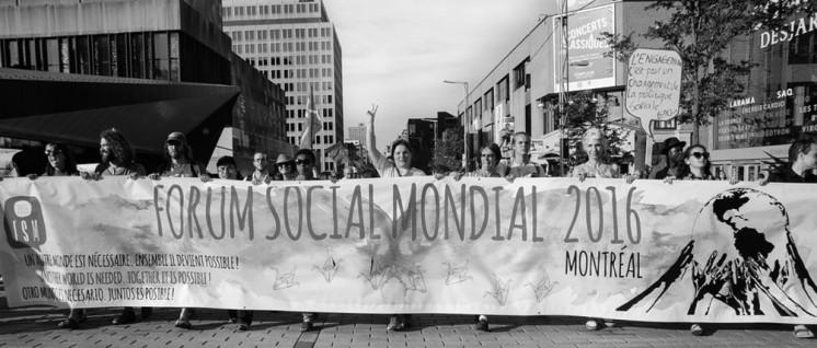 Sozialforum Gedeiht Nicht In Montreal