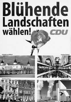 Sympathiwerbung der Konrad-Adenauer-Stiftung
