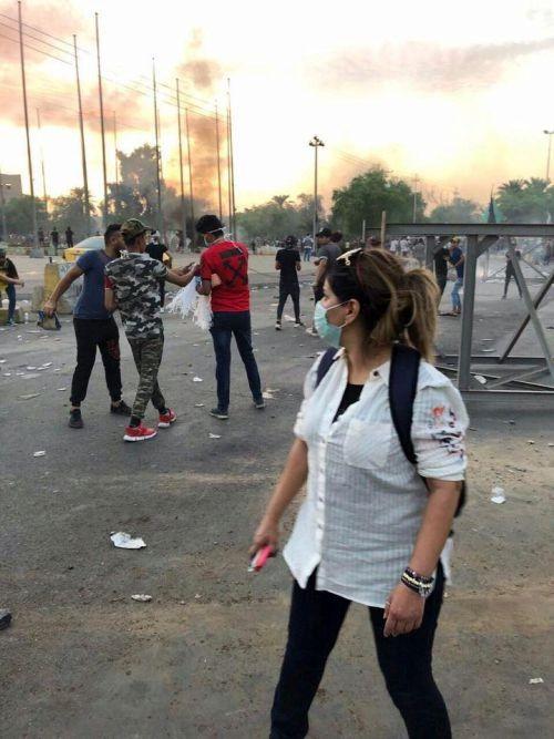 Die Proteste im Irak werden vor allem von jungen Menschen getragen.