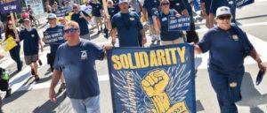"""Demonstration der Stahlarbeiter zum """"Tag der Arbeit"""" in Pittsburgh (3. September 2018). (Foto: USW)"""