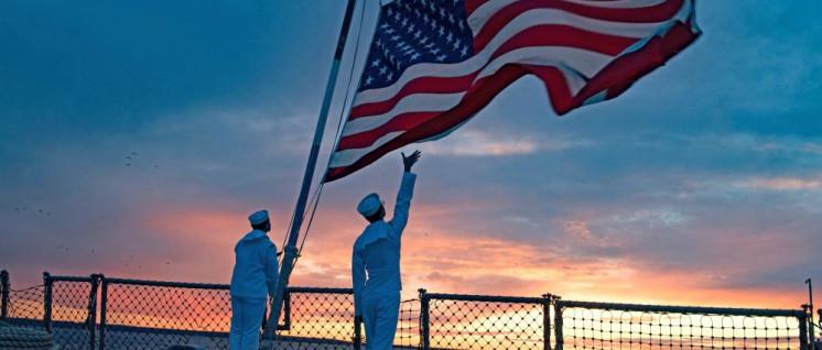Die US-Marine ist auf allen Weltmeeren präsent. Hier in Tallinn, Estland, vor den Toren Russlands. (Foto: Foto: U.S. Navy photo by Mass Communication Specialist 2nd Class Evan Thompson)