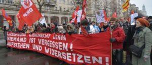 Luxemburg-Liebknecht-Lenin-Demo 2017 (Foto: Tom Brenner)
