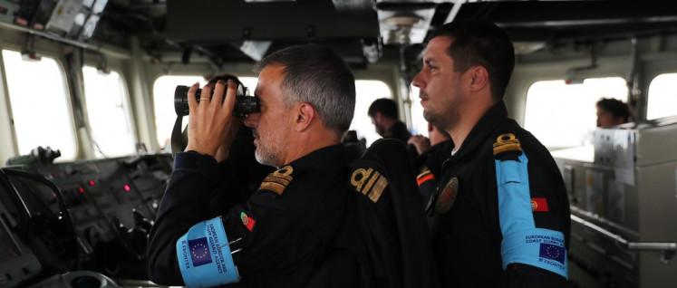 Frontex hält Ausschau nach Flüchtlingen auf dem Mittelmeer. Nicht um sie zu retten, sondern um sie abzudrängen. (Foto: Frontex 2019)