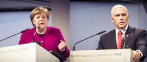 Bundeskanzlerin Angela Merkel und US-Vizepräsident Mike Pence (Foto: MSC / Kuhlmann)