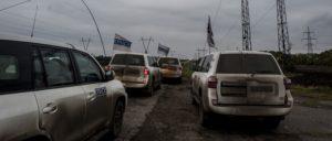 Die OSZE auf Überwachungsmission im Osten der Ukraine (Foto: [url=https://www.flickr.com/photos/osce_smmu/30244099996/in/album-72157671620859224/]OSCE/Evgeniy Maloletka[/url])
