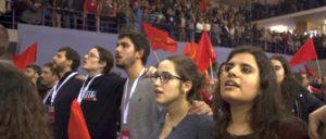 Im Volk verankert, jung und kämpferisch: Delegierte des 20. Parteitages der PCP. (Foto: PCP)