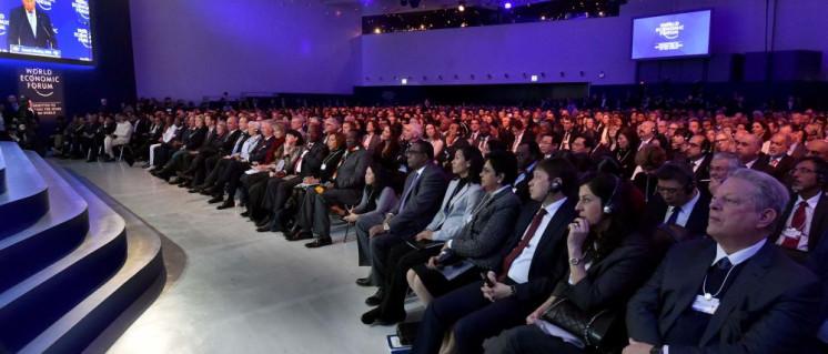 Glückliche Eliten auf dem diesjährigen Weltwirtschaftsforum in Davos (Foto: [url=https://www.flickr.com/photos/governmentza/39823062222]GovernmentZA/flickr.com[/url])