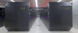 Auch die Rechnerkapazitäten und -geschwindigkeiten eröffnen heute völlig neue Möglichkeiten für die Berechnung komplexer Prozesse: Hier der Tianhe-2 im National Supercomputer Center in Guangzhou (VR China) (Foto: O01326 / wikipedia / CC BY-SA 4.0)