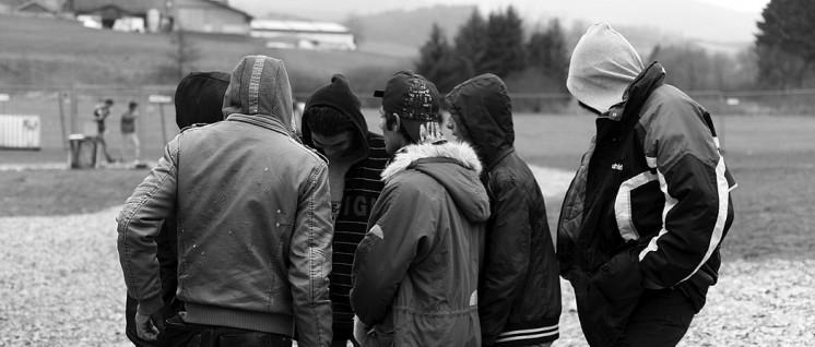 Haben junge Flüchtlinge ein Recht darauf, gegen Behördenwillkür zu protestieren?  (Foto: Metropolico.org / commons.wikimedia.org / CC BY-SA 2.0)