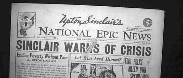 Sinclair warnt in seiner eigenen Zeitung vor der Krise. (Foto: gemeinfrei)