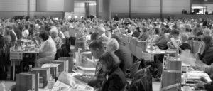 Rückblick: Delegierte des 4. ver.di-Bundeskongresses, der vom 20. bis 26.September 2015 ebenfalls in Leipzig stattfand. (Foto: Lars Mörking)