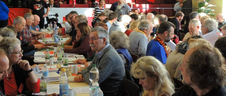 21. Parteitag der DKP (Foto: Tom Brenner)