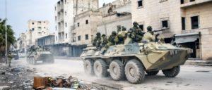 Russische Streitkräfte in Aleppo (Dezember 2016). (Foto: Verteidigungsministerium der Russischen Föderation )