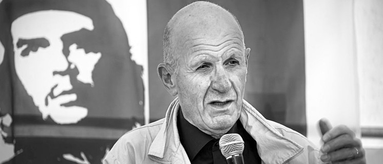 Georg Fülberth auf dem UZ-Pressefest 2011 (Foto: Peter Werner)