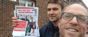 Meinungsumfrage in Antwerpen (Foto: PvdA Antwerpen)