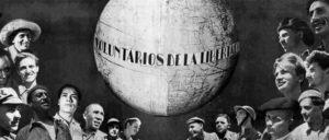 Aus dem Album zum 1. Jahrestag der Internationalen Brigaden (Foto: Montage: aus Un año de las Brigadas Internacionales/unbekannt)