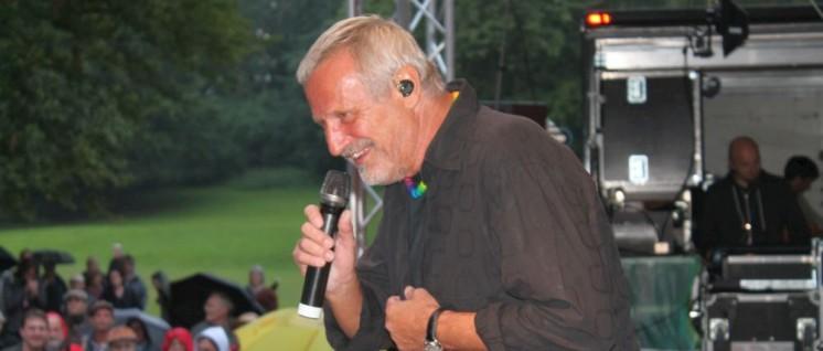 Konstantin Wecker auf dem UZ-Pressefest 2014 (Foto: Shari Deymann)