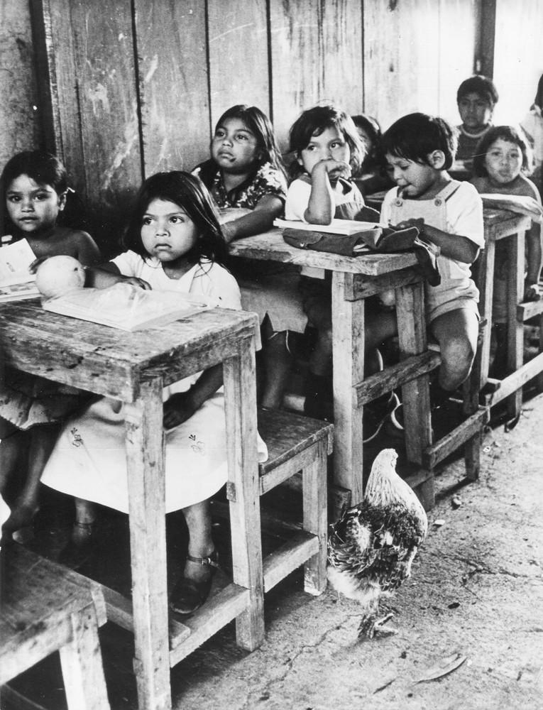Im befreiten Nikaragua können Kinder selbst in den abgelegensten Gebieten und den kleinsten Dörfern in die Schule gehen.