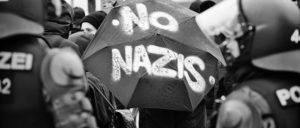 Antifaaktionen zum zehnten Jahrestag der Ermordung des Punks Schmuddel durch einen Nazi, 28.3.2015 (Foto: r-mediabase.eu)