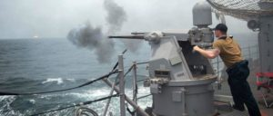 """Mit der """"Operation Sentinel"""" eskalieren die USA den Konflikt mit dem Iran weiter. (Foto: [url=https://www.flickr.com/photos/usnavy/48489831501/in/photostream/]Official U.S. Navy Page[/url])"""