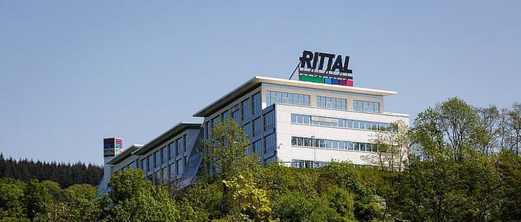 Werk in Abwicklung: Am Firmensitz in Herborn lässt Rittal nicht mehr produzieren. (Foto: [url=https://de.wikipedia.org/wiki/Datei:Rittal,_Herborn.jpg]Otto Domes[/url])
