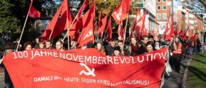 100 Jahre Novemberrevolution - Damals wie heute: Gegen Krieg und Kapitalismus (Foto: Ulf Stephan / r-mediabase.eu)