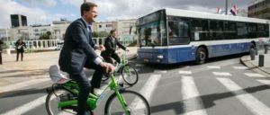 Etwas wacklig unterwegs: Der niederländische Ministerpräsident Mark Rutte sucht Koalitionspartner. (Foto: [url=https://www.flickr.com/photos/minister-president/11288727616/]Assaf Shilo[/url))