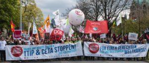 Hannover, 23.4.2016: 90000 gegen TTIP  (Foto: redpicture)