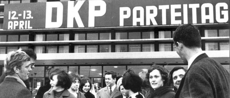 Beim 1. Parteitag der DKP in Essen herrschte Aufbruchstimmung. (Foto: UZ-Archiv)