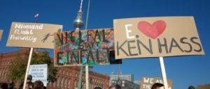#Unteilbar– Solidarität statt Ausgrenzung– für eine offene und freie Gesellschaft (Foto: Gabriele Senft)