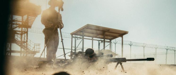 Gekommen, um zu bleiben: US-Truppen in Afghanistan. (Foto: U.S. Marine Corps photo by Sgt. Conner Robbins)